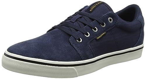 77fe5e130d157e JACK   JONES Herren Jfwdandy Nubuck Navy Blazer Sneaker  Amazon.de ...