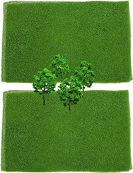 Tappetino gioco-paesaggio erba
