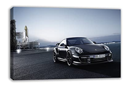 "PORSCHE 911 GT2 RS SPORTS - Lienzo decorativo para pared (44 x 26"")"