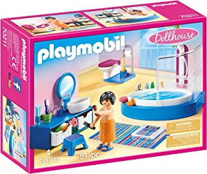PLAYMOBIL Bathroom with Tub Furniture Pack