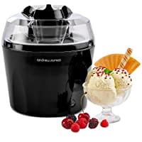 "Andrew James Ice Cream Maker Machine with Detachable Mixing Paddle 1.5L - Makes Gelato Frozen Yoghurt & Sorbet Machine - Voted""Best Buy"" by Which? Magazine"
