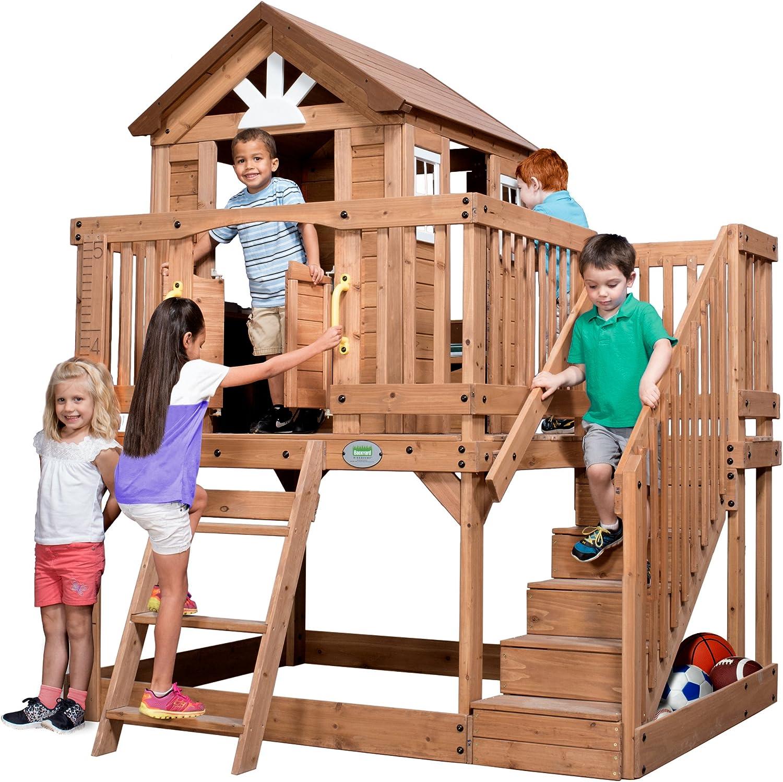 Backyard Discovery Scenic Heights Woeden Cedar Playhouse