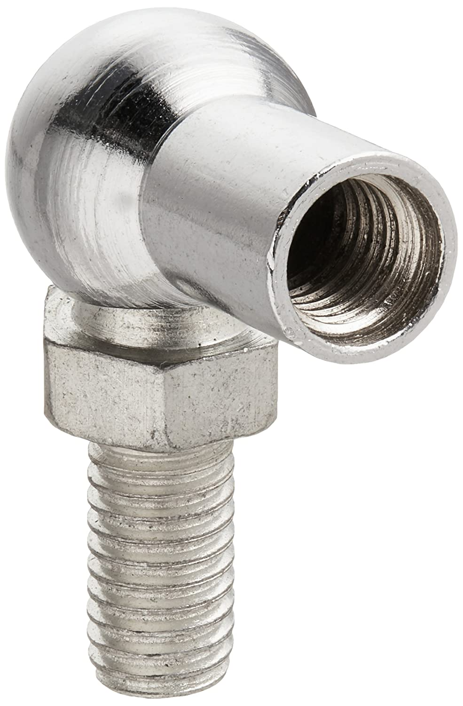 uxcell a15052700ux0059L-Shape barra de acoplamiento Teniendo 8mm 90° macho a hembra en forma de L Rótula barra de acoplamiento Teniendo 4PC
