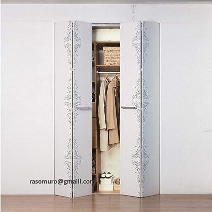 Libro Cabina Armadio raso muro porte Filo Muro: Amazon.it ...