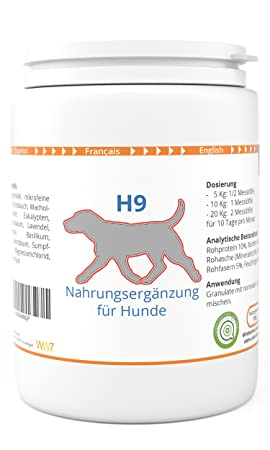 ww7 H9 Perro/Piojos - Garrapatas - Parásitos [Hierbas] 150g: Amazon.es: Productos para mascotas