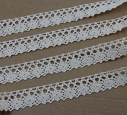 Amazon Chengyida 3418cm Crochet Lace Cotton Ribbon Trim
