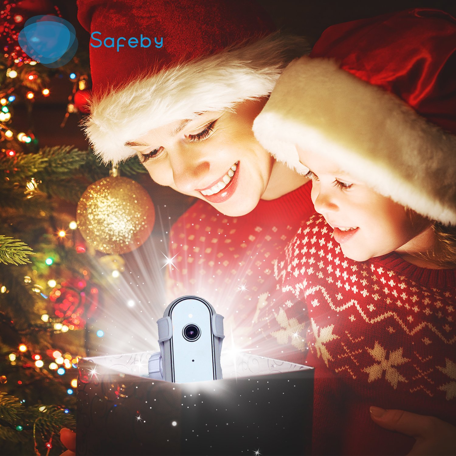 Safeby Video Baby Monitor With Camera And Audio – Crib Mount, iPhone Compatible, HD, Two-Way Talk, InfraRed, Night Vision, Portable WiFi Nanny Cam, App for Any Smart Phone, Unlimited Range Easy Set-Up by Safeby (Image #8)