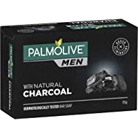 Palmolive Palmolive Men with Natural Charcoal Dermatologically tested Bar Soap 115g, 115 grams