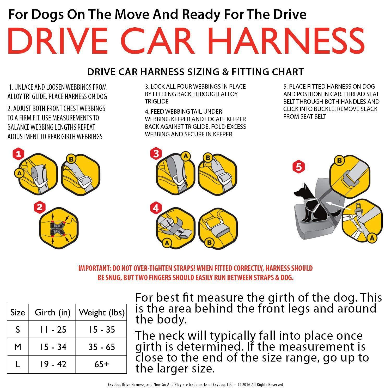 d2e235683e61 ... Crash Tested US (FMVSS 213 Certified) - Premium Vehicle Restraint Vest  Protection Comfort - Easy One Time Fit Use Car Seat Belt (Medium)   Pet  Supplies