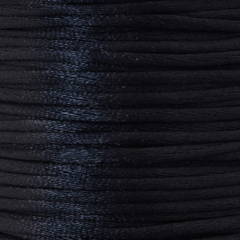 100 m 2 mm Cordoncino in raso Aranato diversi colori bianco