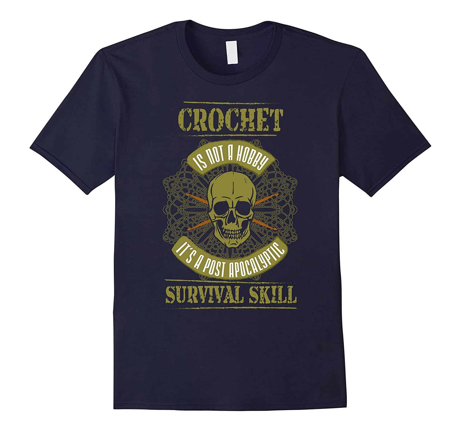 Crochet T-shirt - Crochet is not a hobby it's a post-FL