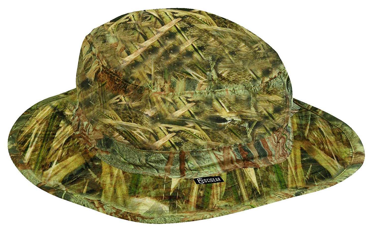 d8192ddfc45 Amazon.com   Mossy Oak OC Gear Water Defense Flexible Fitted Boonie Hat    Sports   Outdoors