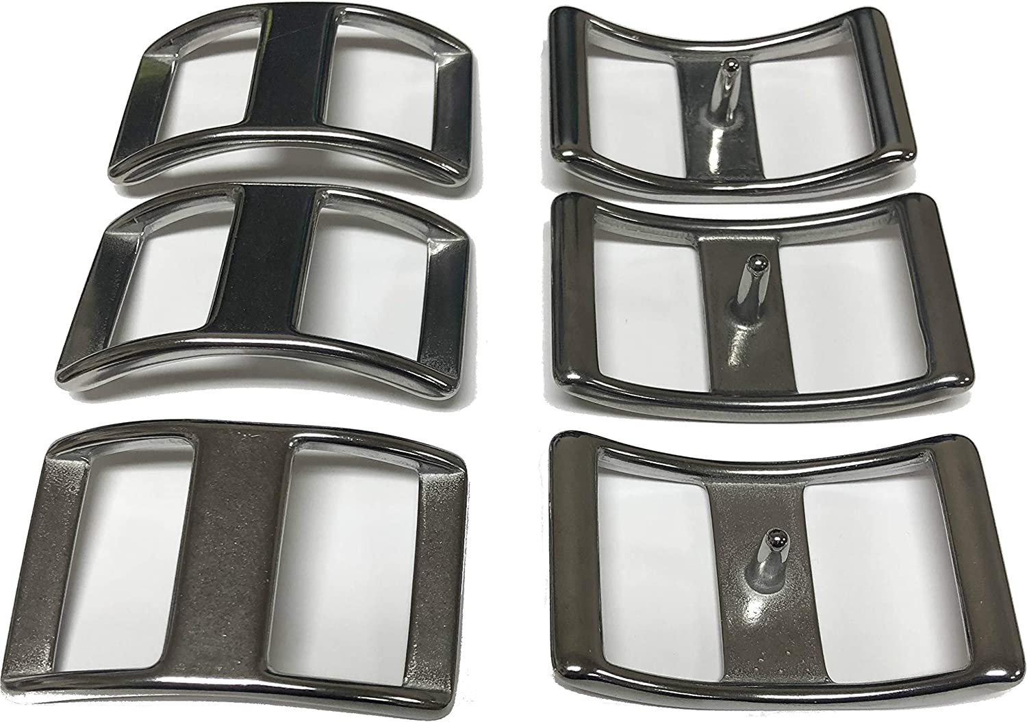 "Lot of 6 Roller Buckles Stainless Steel 150 Horse Tack 3//4 /"" Weaver Leather New"