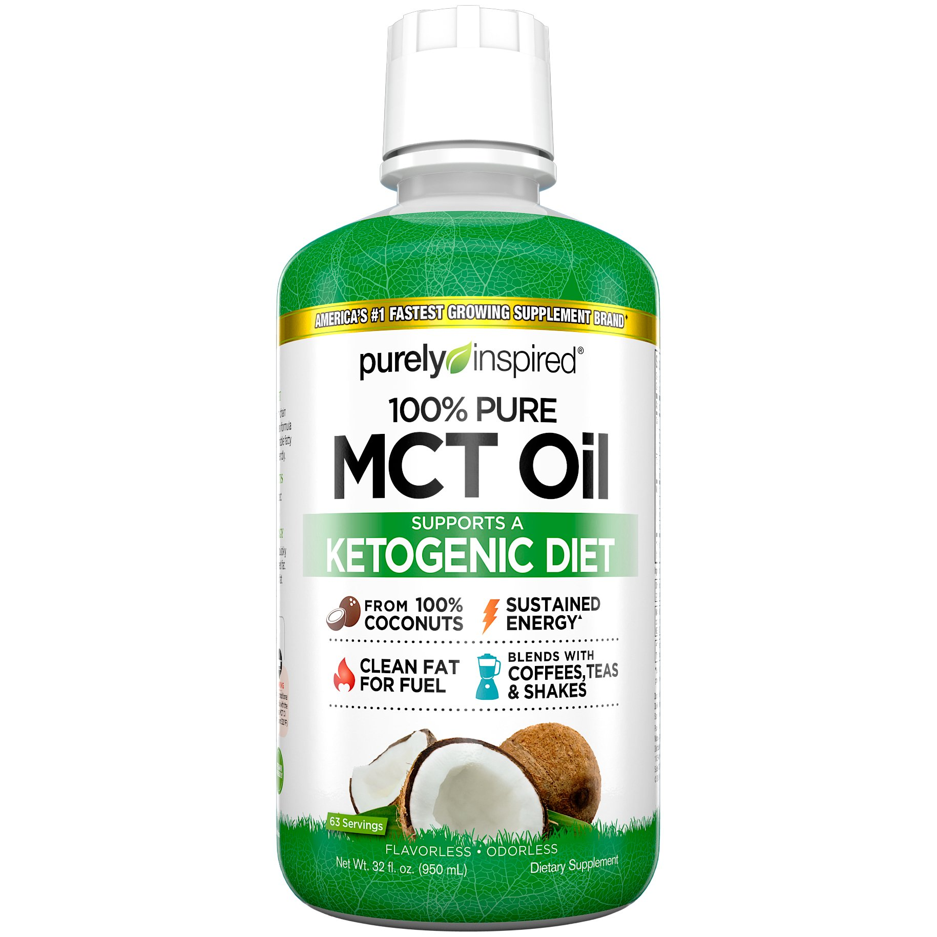 Purely Inspired MCT Oil, 32 Ounce
