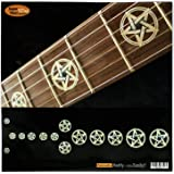 Fretboard Markers Inlay Sticker Decals for Guitar & Bass - Pentagram /Kevin Bond