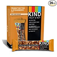 Deals on 12-Ct KIND Bars Peanut Butter & Strawberry Gluten Free 1.4-Oz