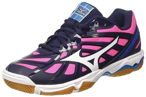 Mizuno Wave Hurricane 2 Wos, Zapatillas de Voleibol para Mujer: Amazon.es: Zapatos y complementos