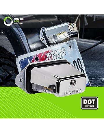 Surface-Mount LED Trailer License Plate Lights [DOT/SAE Certified] [IP67