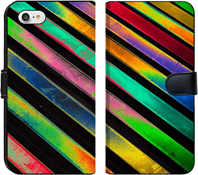Yellow Red blue Colorful Pattern iphone case