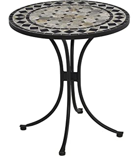 Amazing Home Style 5605 34 Bistro Table, Black Finish