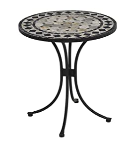 Black Bistro Table by Home Styles