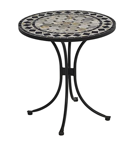 Exceptionnel Home Style 5605 34 Bistro Table, Black Finish