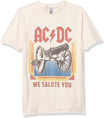 ACDC Heavy Metal Rock Band We Salute You - Camiseta para Adulto: Amazon.es: Ropa y accesorios