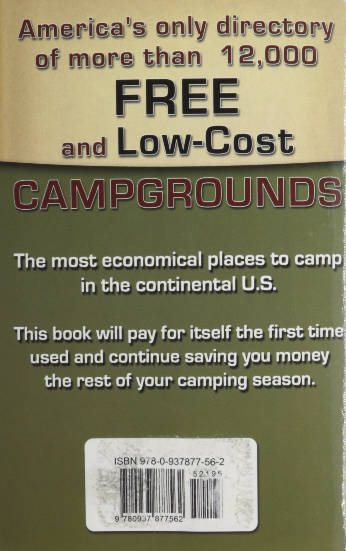 Camping America's Guide To Free And Lowcost Campgrounds: Includes  Campgrounds $12 And Under In The United States (don Wright's Guide To Free  Campgrounds):