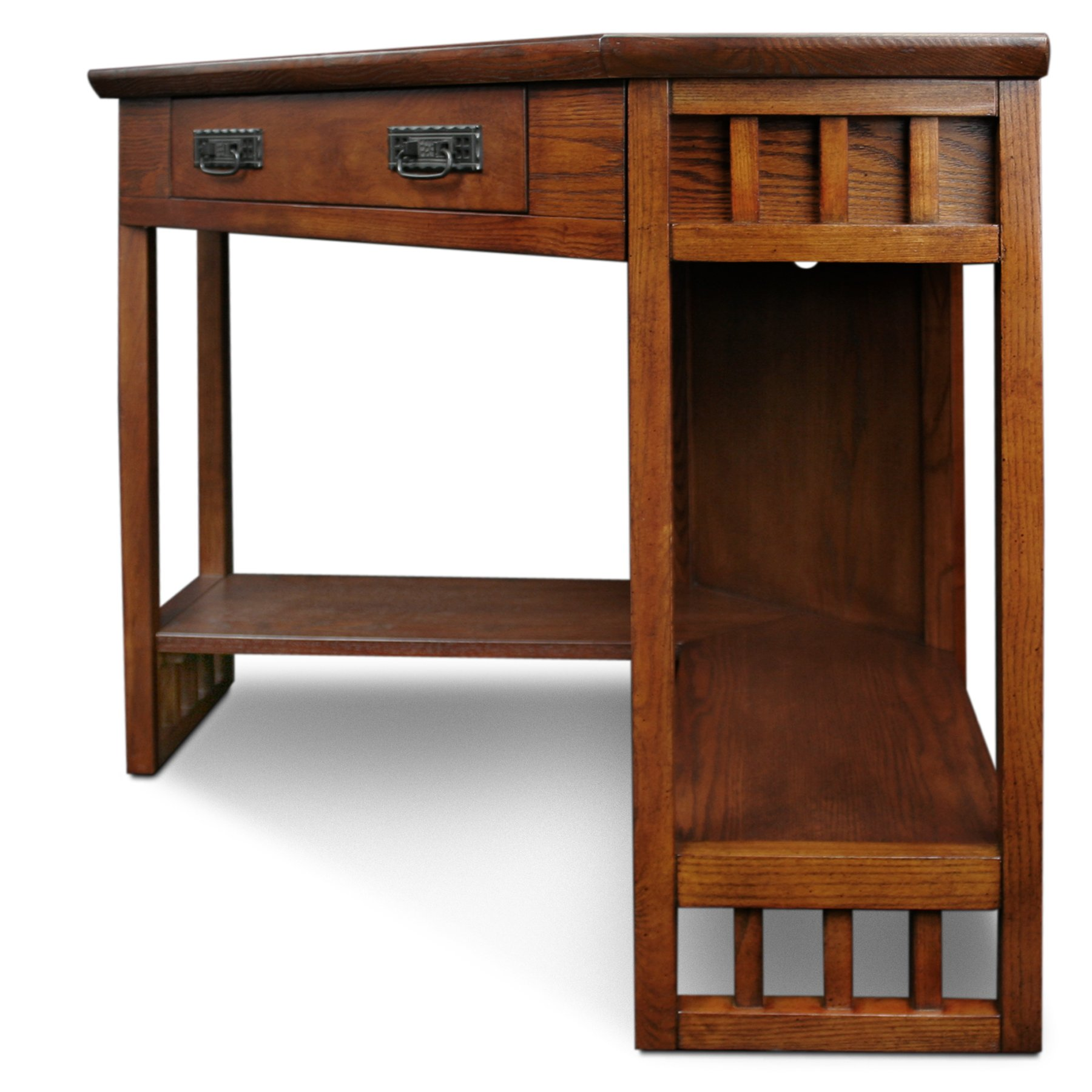 Leick Corner Computer and Writing Desk, Mission Oak Finish by Leick Furniture (Image #9)
