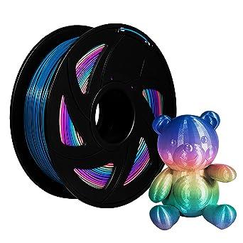 Filamentos XVICO PLA, carretes de impresora 3D arcoíris, filamento ...