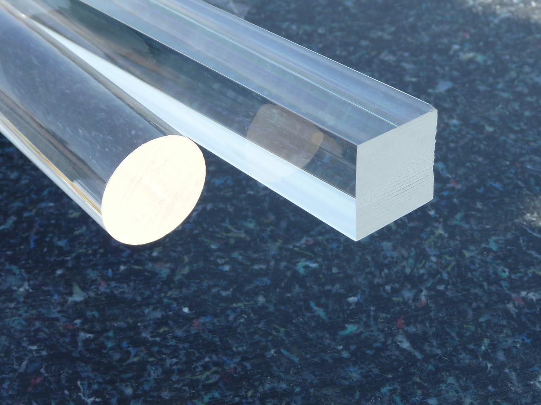 Acrylglas XT /Ø 25 mm Lang 500 mm farblos alt-intech/® Rundstab klar