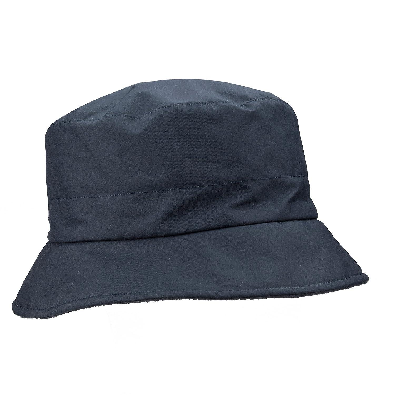 Loevenich Mujer Sombrero de Lluvia con Forro Polar-Fleece - Gorro di Pescador  para Otoño 45f35810c42