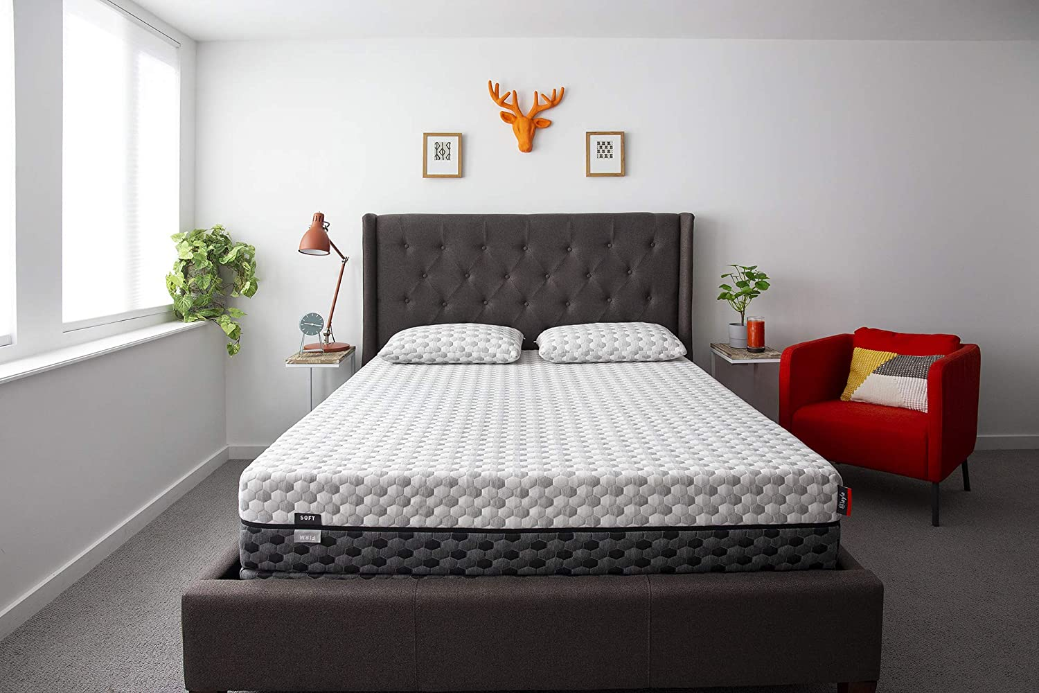 Layla Sleep Copper Infused Memory Foam King Mattress