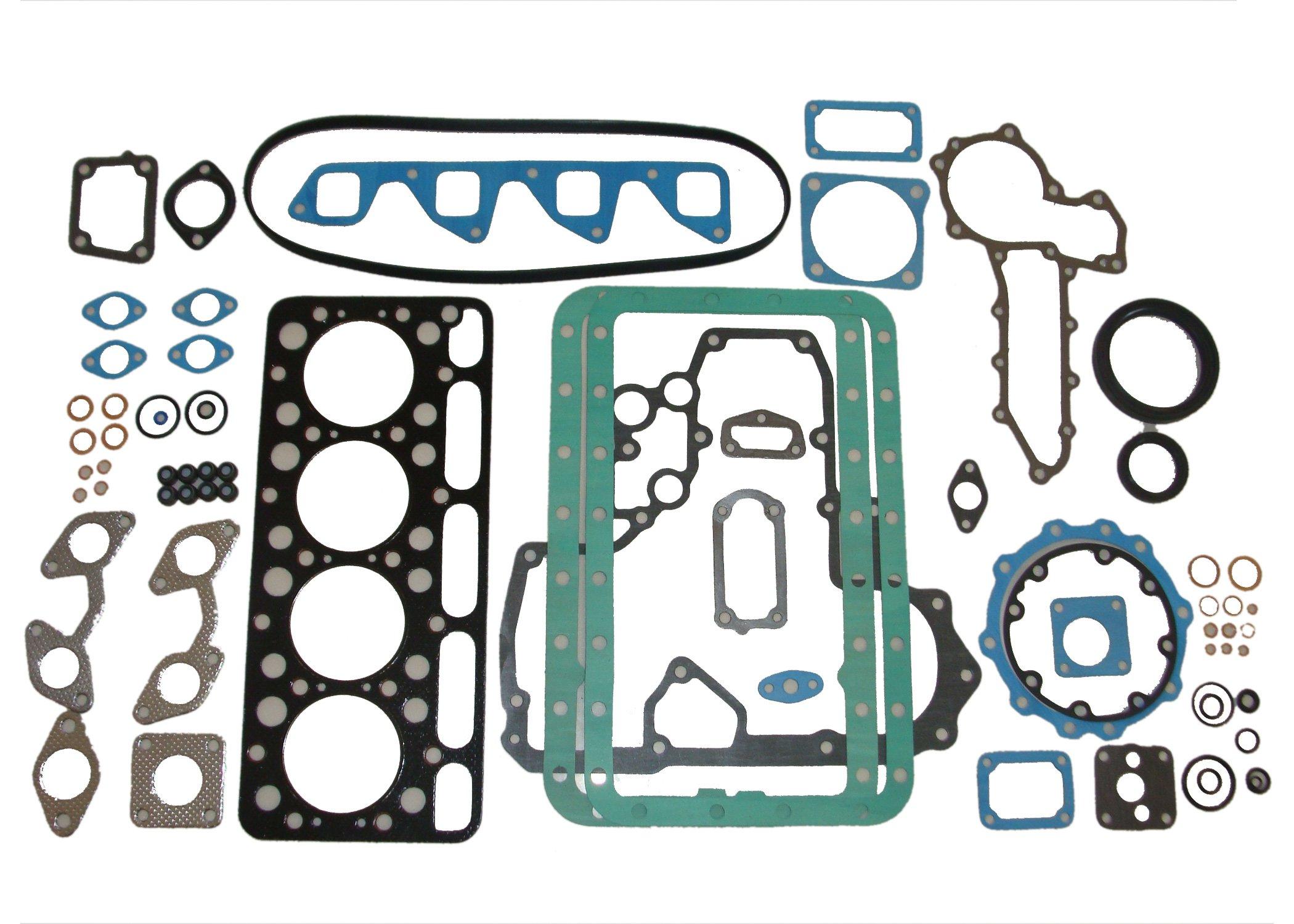 New Kubota V1702 Full Gasket Set by Kumar Bros USA