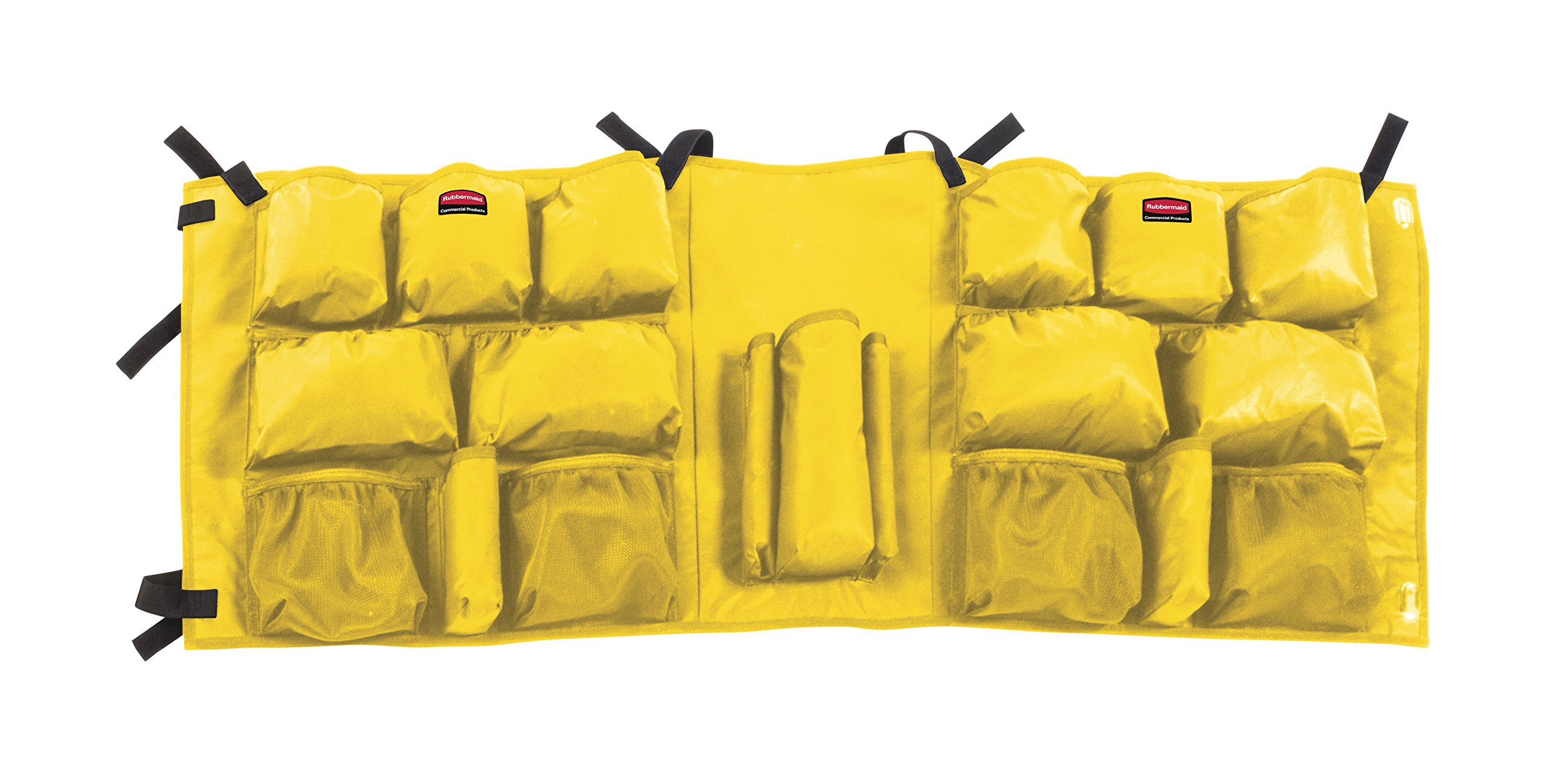 Rubbermaid Commercial Products 2032951 Slim Jim Caddy Bag for 23 gal, Yellow