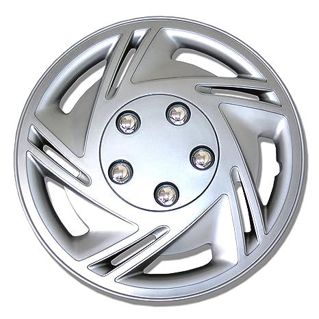"Wheel Rim Skin Cover 4pcs Set Style 602 Hubcaps 14/"" Inches 14 inch Hub cap"