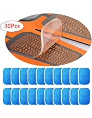 EMS Abs Replacement Pads,Abs Trainer Replacement Gel Sheet Abdominal Toning Belt Muscle Toner Ab belt Accessories 30pcs Gel Sheets For Gel Pad(2pcs/packs, 15packs/box)