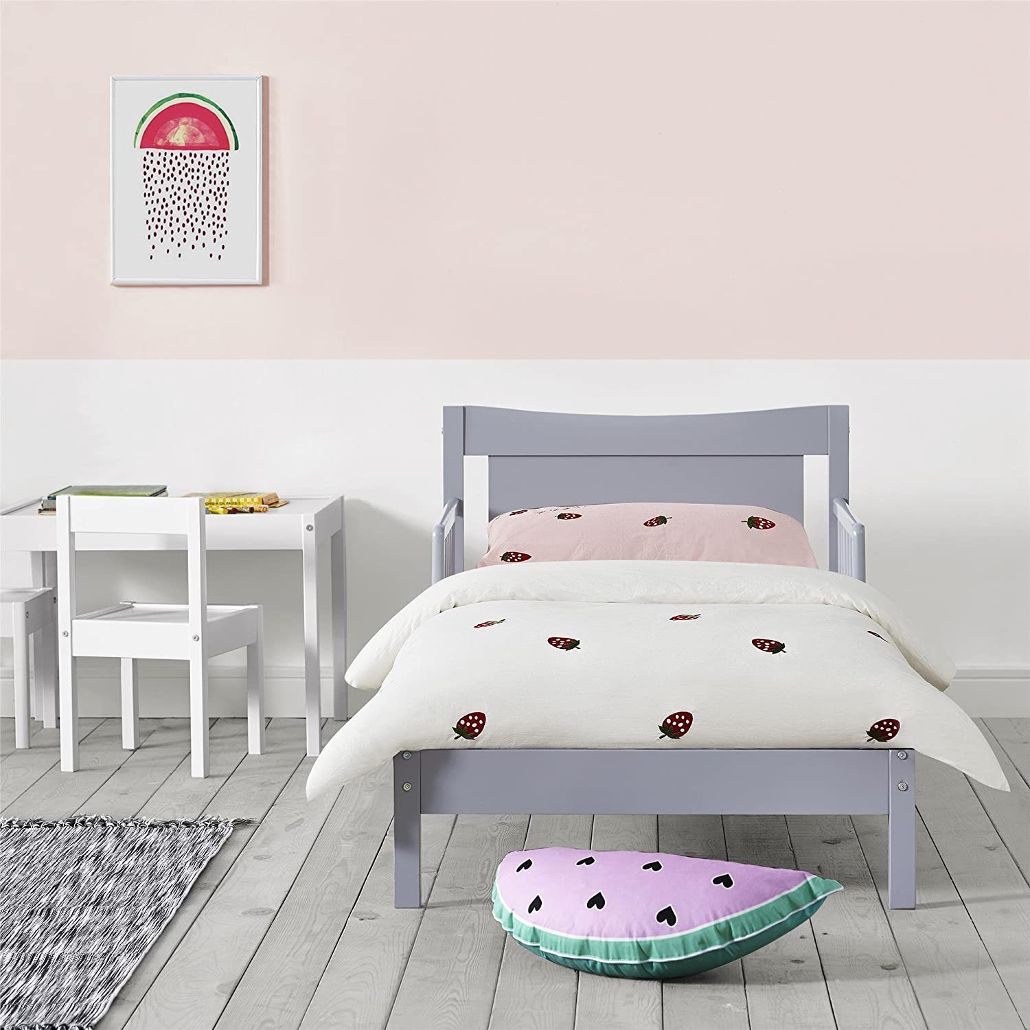 Gray Baby Relax Memphis Toddler Bed