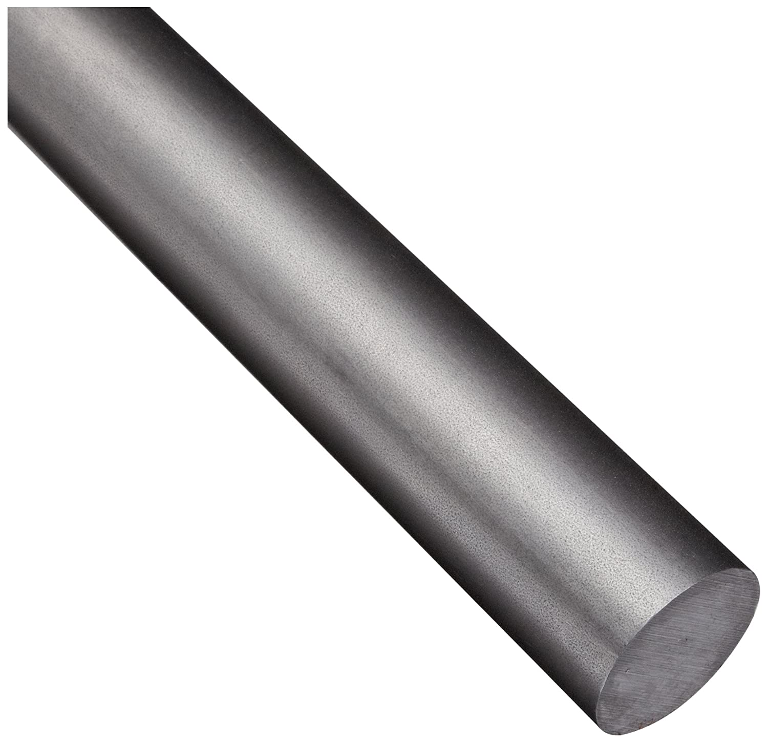 Unpolished 12 Length 1018 Carbon Steel Round Rod Cold Finished Temper ASTM A108 Finish Mill 0.375 Diameter