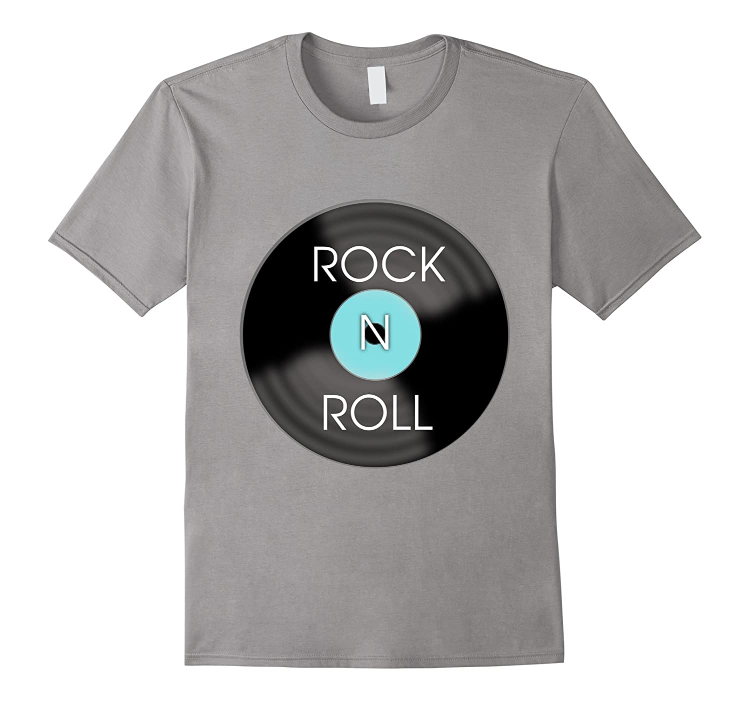 1950s Rock and Roll Record T-Shirt-TD