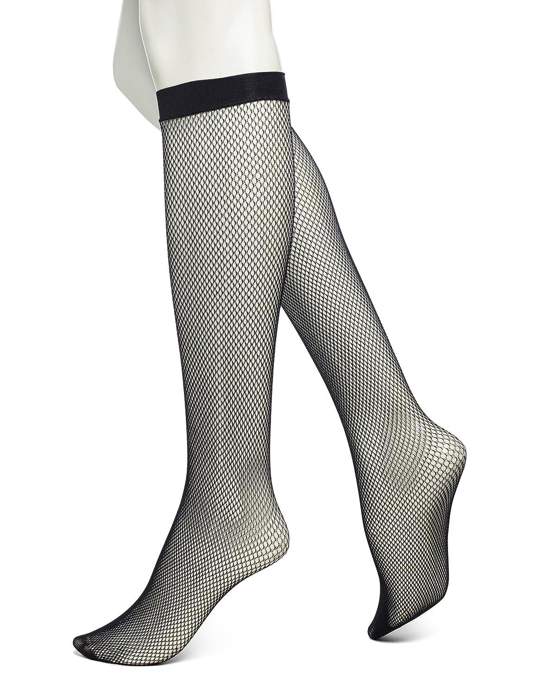398e6719533 No Nonsense Women s Fishnet Knee High Trouser Sock