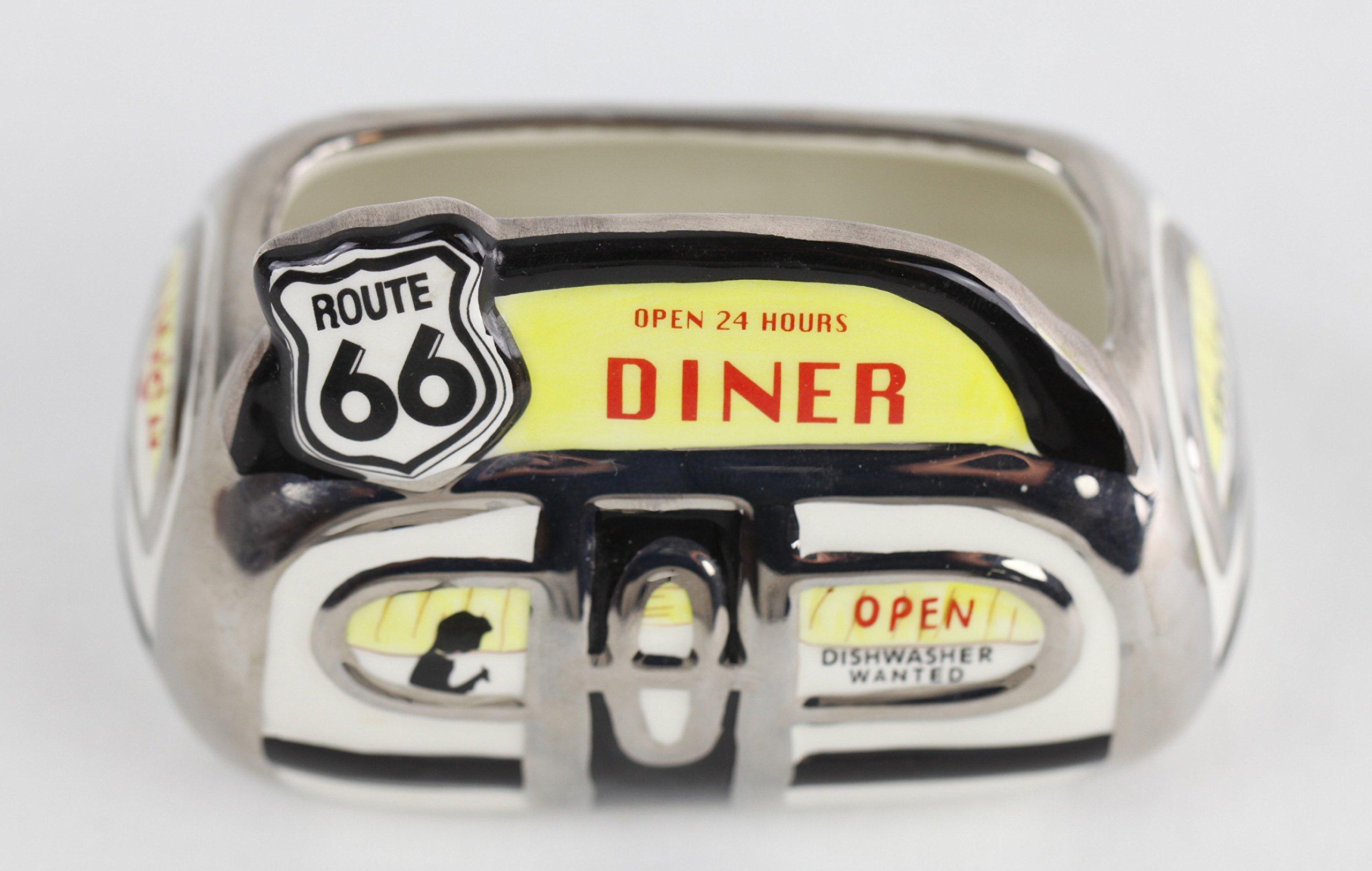 Henry Cavanaugh Route 66 Diner Sugar Packet Holder
