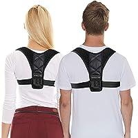 Xipolite Corrector de Postura para Hombres y Mujeres, Ajustable, Deportivo y cómodo para Alinear la Espalda, Columna Vertebral, cifosis torácica, la clavícula y Hombros.