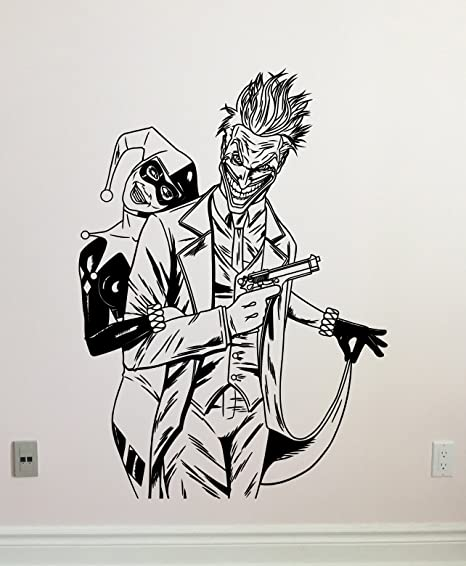 Art Joker Sticker Design