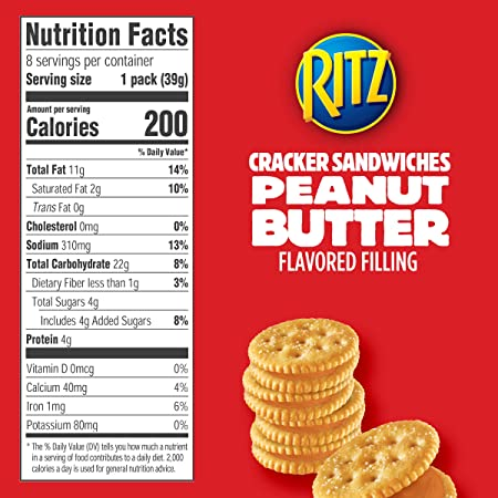 is peanut butter crackers good for a diet
