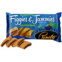 Pamela's Products Gluten Free Figgies & Jammies Cookies, Blueberry and Fig, 9 Ounce (Pack of 6)