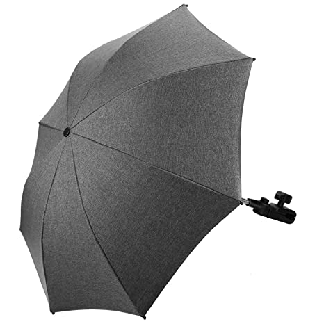 Baby Parasol Compatible with Joie Stroller Buggy Pram Black