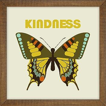 Amazon.com: The Novogratz Virtues-Kindness Decorative Wall Art ...
