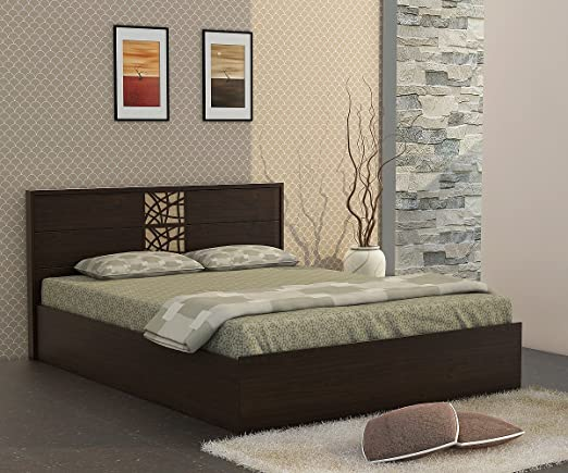 Spacewood Atlas Queen Size Bed with Storage  Woodpore, Vermont