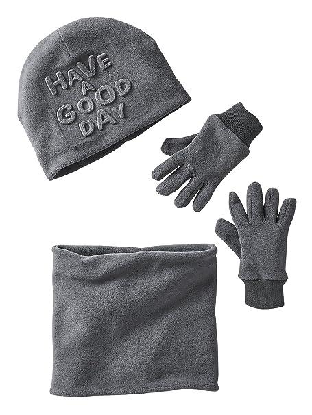 VERTBAUDET Gorro para niño + snood + guantes o manoplas  Amazon.es  Ropa y  accesorios 010513fc3f0